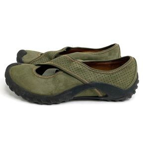 PRivo by Clark's Olive Green Leather Walking Shoe